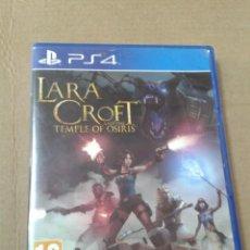 Videojuegos y Consolas PS4: LARA CROFT TMEPLE OF OSIRIS. PS4. Lote 218632800