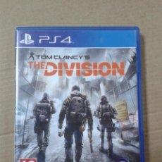 Videojuegos y Consolas PS4: THE DIVISION. PS4. Lote 218635046