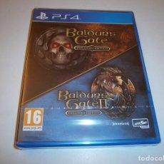 Videojuegos y Consolas PS4: BALDUR'S GATE I Y II ENHANCED EDITION PLAYSTATION 4 PAL ESPAÑA NUEVO PRECINTADO. Lote 218752176