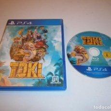 Videojuegos y Consolas PS4: TOKI PLAYSTATION 4 PAL ESPAÑA. Lote 218752231