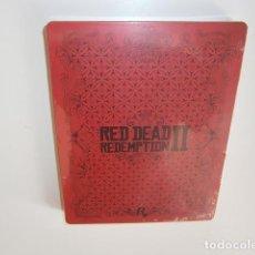 Videojuegos y Consolas PS4: RED DEAD REDEMPTION II STEELBOOK CAJA. Lote 218865197