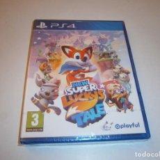Videojuegos y Consolas PS4: NEW SUPER LUCKY'S TALE PLAYSTATION 4 PAL ESPAÑA NUEVO PRECINTADO. Lote 218900420