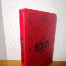 Videojuegos y Consolas PS4: CAJA METÁLICA RED READ REDEMPTION II 2 - PLAYSTATION 4 PS4. Lote 218901237