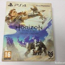 Videojuegos y Consolas PS4: HORIZON ZERO DAWN EDICION LIMITADA. Lote 219391031