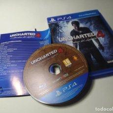Videojuegos y Consolas PS4: UNCHARTED 4 ( PS4 - PLAYSTATION 4 - PAL - ESP). Lote 219676241