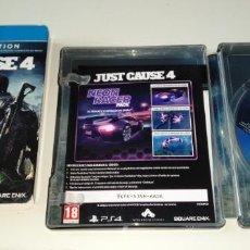 Videojuegos y Consolas PS4: JUST CAUSE 4 CAJA METALICA PLAYSTATION PS4. Lote 219687261
