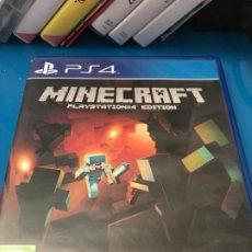 Videojuegos y Consolas PS4: JUEGO PS4 MINECRAFT. Lote 220276587
