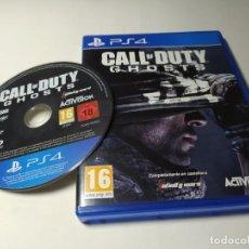 Videojuegos y Consolas PS4: CALL OF DUTY GHOSTS ( PLAYSTATION 4 - PS4 - PAL - ESP). Lote 220638670