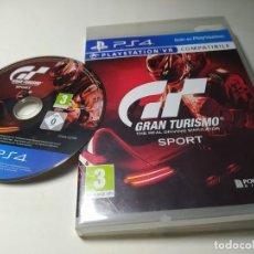 Videojuegos y Consolas PS4: GRAN TURISMO SPORT - CAJA PS3 ( PLAYSTATION 4 - PS4 - PAL - ESP). Lote 220638742