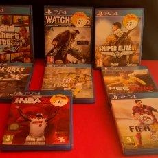 Videojuegos y Consolas PS4: LOTE DE JUEGOS PLAYSTATION 4. Lote 220702535