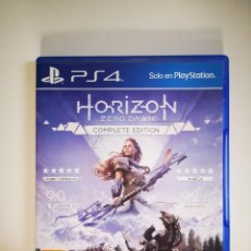 Videojuegos y Consolas PS4: HORIZON ZERO DAWN PS4 COMPLETE EDITION. Lote 221097038