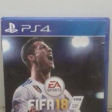 Videojuegos y Consolas PS4: PS4 FIFA 18. Lote 221322636