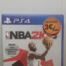 Videojuegos y Consolas PS4: PS4 NBA 2K 18. Lote 221322658