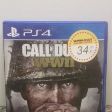 Videojuegos y Consolas PS4: PS4 CALL OF DUTY WWII. Lote 221322700
