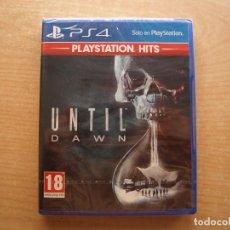 Videojuegos y Consolas PS4: UNTIL DAWN - PS4 - PRECINTADO - SIN USAR. Lote 221342750