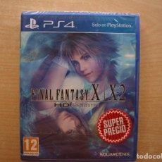 Videojuegos y Consolas PS4: FINAL FANTASY X / X2 HD REMASTER - PS4 - PRECINTADO - SIN USAR. Lote 221364763