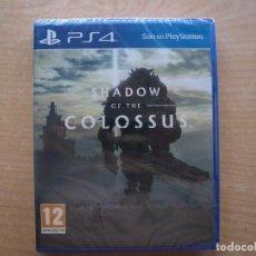 Videojuegos y Consolas PS4: SHADOW OF THE COLOSSUS - PS4 - PRECINTADO - SIN USAR. Lote 221365426