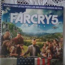 Videojuegos y Consolas PS4: GUÍA COMPLETA DEL JUEGO FARCRY 5, PS4. Lote 221390310
