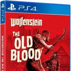Videojuegos y Consolas PS4: PS4 WOLFENSTEIN THE OLD BLOOD (EDICIÓN ESPAÑOLA). Lote 221698471