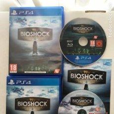 Videojuegos y Consolas PS4: BIOSHOCK THE COLLECTION PS4 1 2 INFINITE EN 2 CAJAS Y 2 DISCOS PLAYSTATION 4 PLAY STATION KREATEN. Lote 221702563