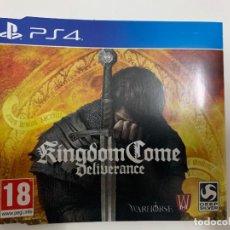 Videojuegos y Consolas PS4: CÓDIGO DIGITAL DEL DLC KINGDOM COME TREASURES OF THE PAST PS4. Lote 221707858