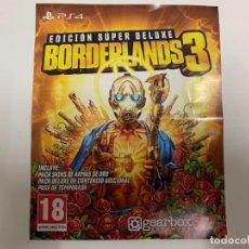 Videojuegos y Consolas PS4: CÓDIGO DIGITAL BORDERLANDS 3 EDICIÓN SÚPER DELUXE PASE DE TEMPORADA PS4. Lote 221710240