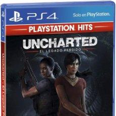 Videojuegos y Consolas PS4: PS4 UNCHARTED : EL LEGADO PERDIDO (EDICIÓN ESPAÑOLA). Lote 221716125