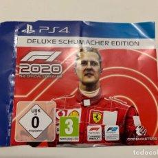 Videojuegos y Consolas PS4: F1 2020: SCHUMACHER EDITION DLC PS4. Lote 221732337