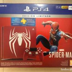 Videojuegos y Consolas PS4: SONY PLAYSTATION 4 PS4 PRO EDICIÓN LIMITADA SPIDER-MAN - ROJA - PRECINTADA. Lote 221778452