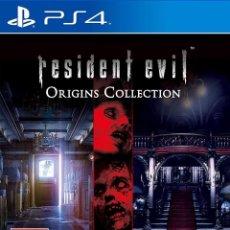 Videojuegos y Consolas PS4: PS4 RESIDENT EVIL ORIGINS COLLECTION (EDICIÓN ESPAÑOLA). Lote 221808947