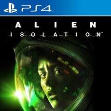 Videojuegos y Consolas PS4: PS4 ALIEN ISOLATION (EDICIÓN ESPAÑOLA). Lote 221809523