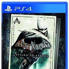 Videojuegos y Consolas PS4: PS4 BATMAN RETURN TO ARKHAM (EDICIÓN ESPAÑOLA). Lote 221810310