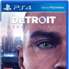 Videojuegos y Consolas PS4: PS4 DETROIT: BECOME HUMAN (EDICIÓN ESPAÑOLA). Lote 221810956