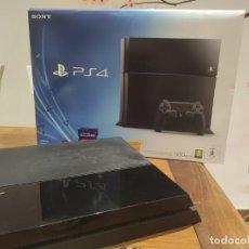Videojuegos y Consolas PS4: PS4 JET BLACK CUH-1004A/B01 + REGALO CUENTA PSN CON MAS DE 200 JUEGOS JUEGOS. Lote 221868718
