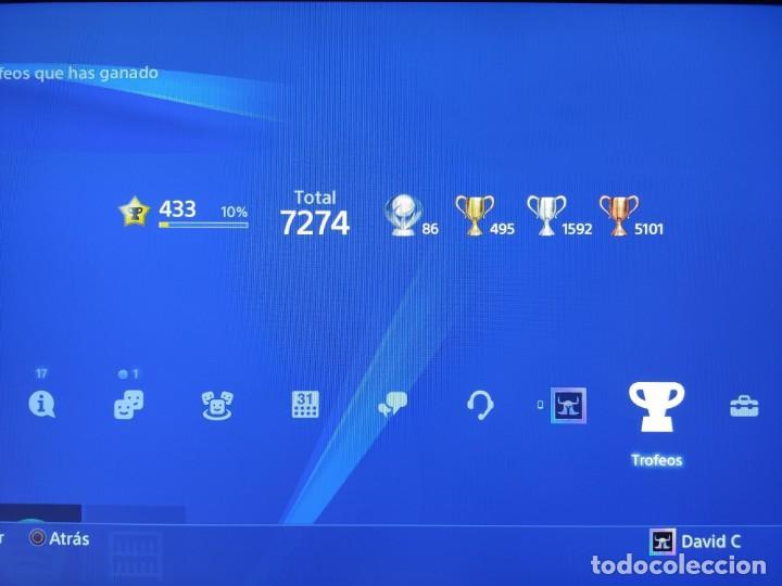 Videojuegos y Consolas PS4: PS4 Jet Black CUH-1004A/B01 + Regalo cuenta PSN con mas de 200 juegos juegos - Foto 2 - 221868718