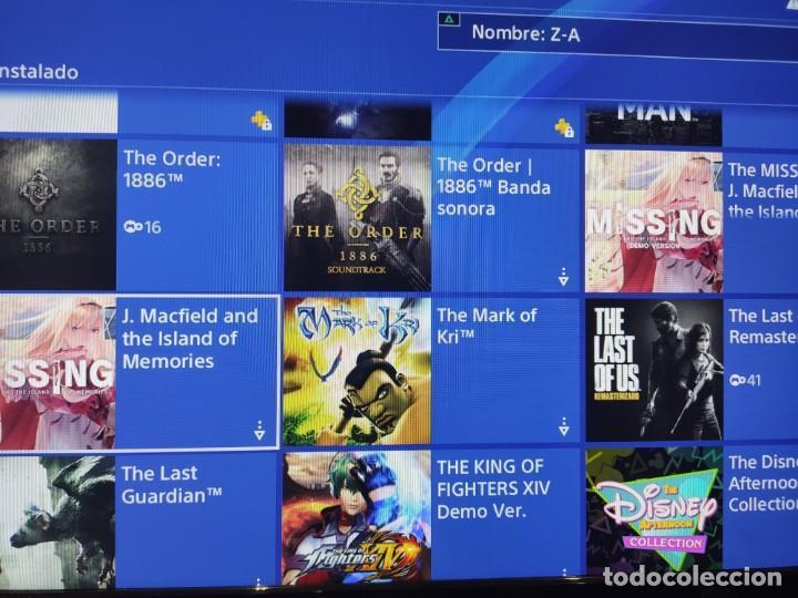 Videojuegos y Consolas PS4: PS4 Jet Black CUH-1004A/B01 + Regalo cuenta PSN con mas de 200 juegos juegos - Foto 5 - 221868718