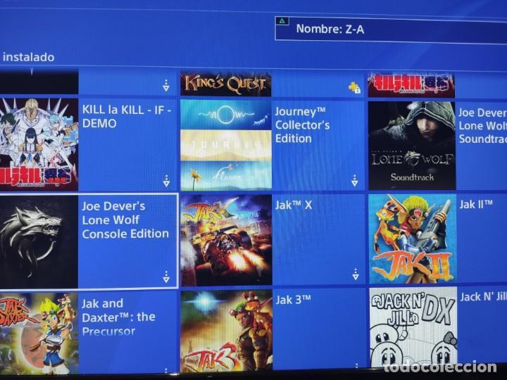 Videojuegos y Consolas PS4: PS4 Jet Black CUH-1004A/B01 + Regalo cuenta PSN con mas de 200 juegos juegos - Foto 7 - 221868718