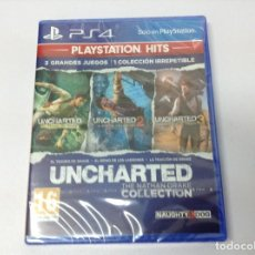 Videojuegos y Consolas PS4: UNCHARTED THE NATHAN DRAKE COLLECTION. Lote 222057380