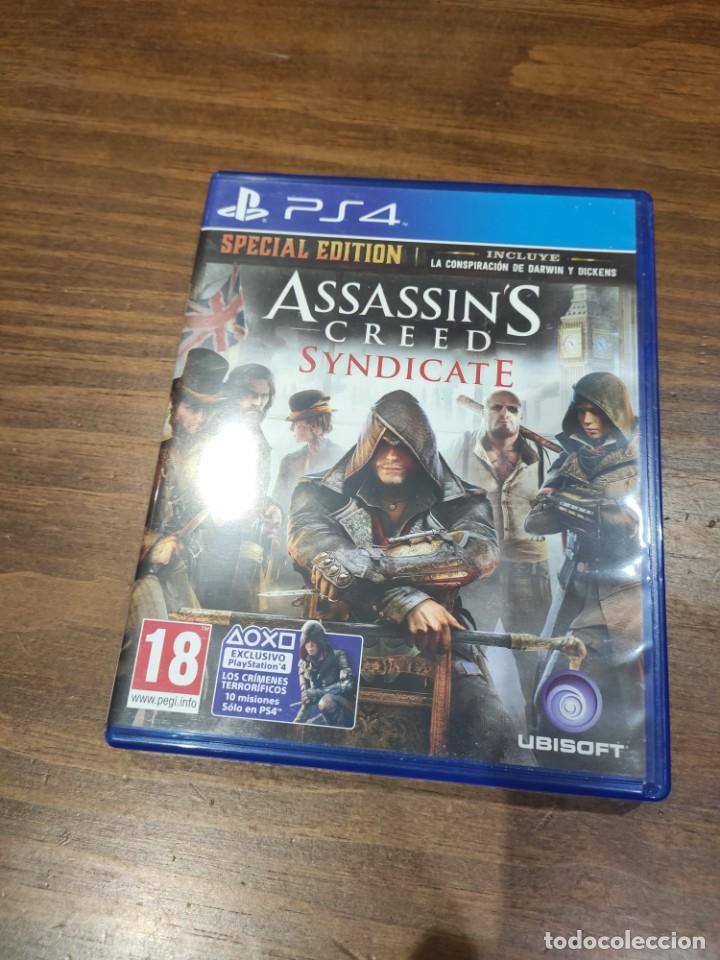 ASSASSINS CREED SYNDICATE - PS4 - MUY BUEN ESTADO (LEER DESCRIPCION) (Juguetes - Videojuegos y Consolas - Sony - PS4)