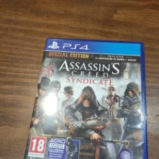 Videojuegos y Consolas PS4: ASSASSINS CREED SYNDICATE - PS4 - MUY BUEN ESTADO (LEER DESCRIPCION). Lote 222300902