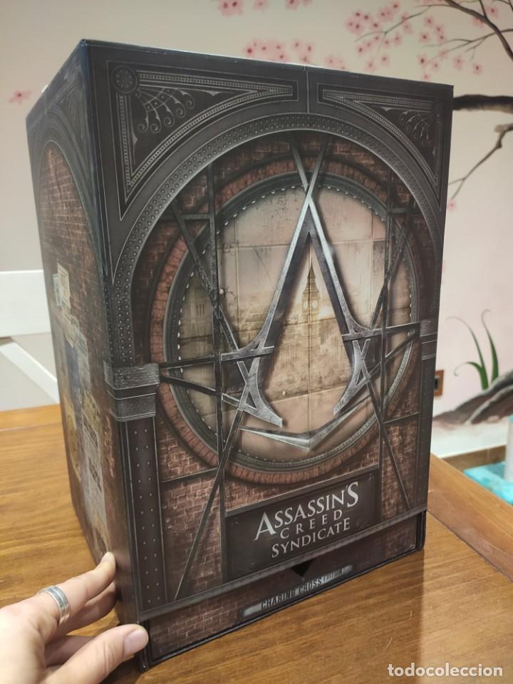 Videojuegos y Consolas PS4: Assassins Creed Syndicate - Figura con Caja - Muy buen estado (LEER DESCRIPCION) - Foto 2 - 222301198