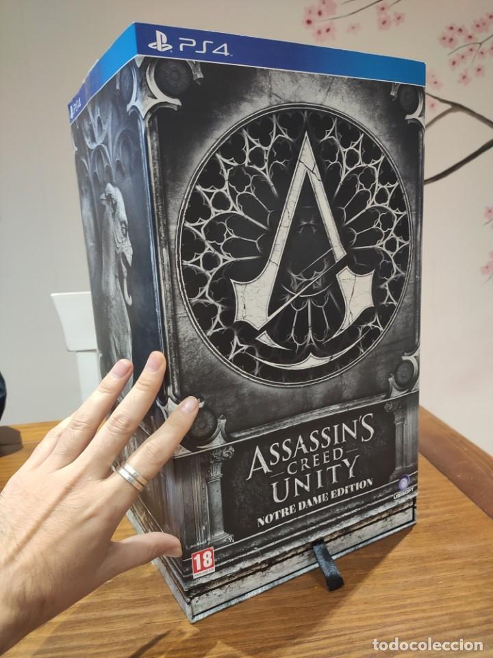ASSASSINS CREED UNITY - FIGURA CON CAJA - MUY BUEN ESTADO (LEER DESCRIPCION) (Juguetes - Videojuegos y Consolas - Sony - PS4)