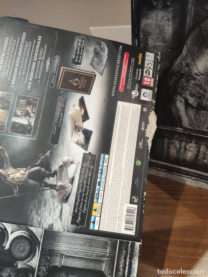 Videojuegos y Consolas PS4: Assassins Creed Unity - Figura con Caja - Muy buen estado (LEER DESCRIPCION) - Foto 2 - 222301268