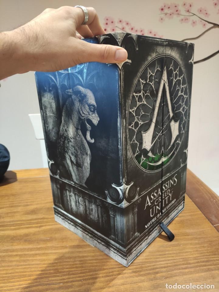 Videojuegos y Consolas PS4: Assassins Creed Unity - Figura con Caja - Muy buen estado (LEER DESCRIPCION) - Foto 3 - 222301268