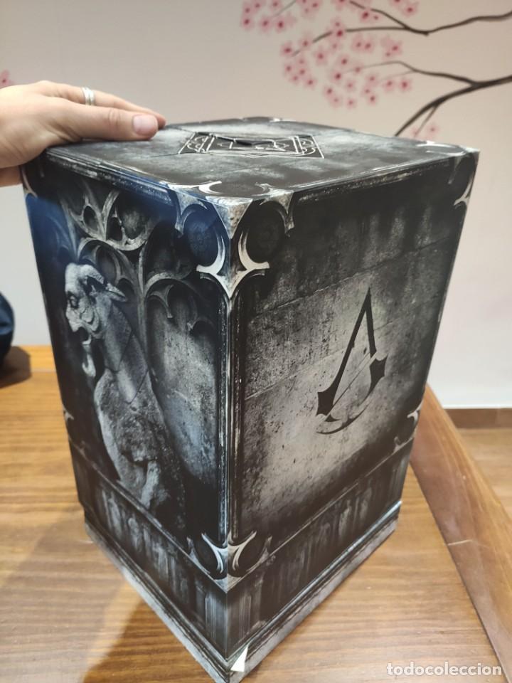 Videojuegos y Consolas PS4: Assassins Creed Unity - Figura con Caja - Muy buen estado (LEER DESCRIPCION) - Foto 5 - 222301268