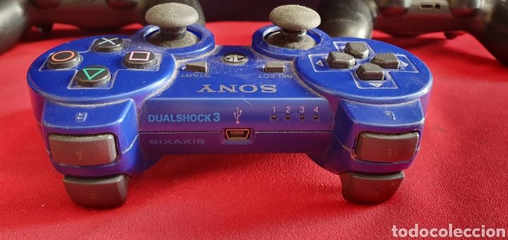 Videojuegos y Consolas PS4: LOTE DE 3 MANDOS PLAYSTATION 4 Y 3 NO ESTAN BROBADOS - Foto 3 - 222306122