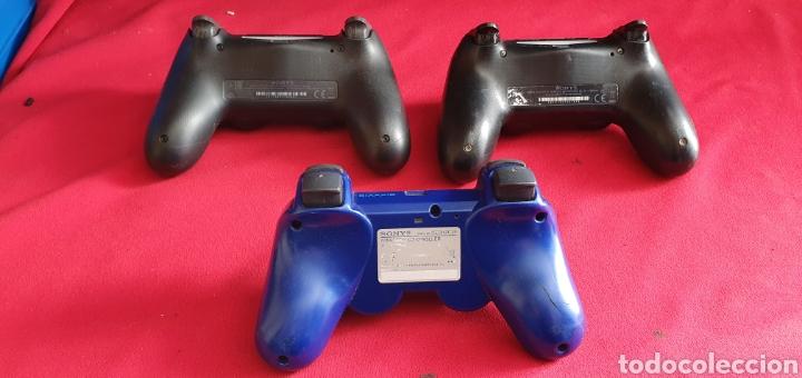 Videojuegos y Consolas PS4: LOTE DE 3 MANDOS PLAYSTATION 4 Y 3 NO ESTAN BROBADOS - Foto 8 - 222306122