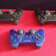 Videojuegos y Consolas PS4: LOTE DE 3 MANDOS PLAYSTATION 4 Y 3 NO ESTAN BROBADOS. Lote 222306122