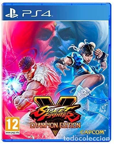 PS4 STREET FIGHTER V: CHAMPION EDITION (EDICIÓN ESPAÑOLA) (Juguetes - Videojuegos y Consolas - Sony - PS4)