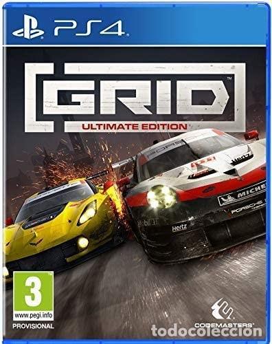 PS4 GRID ULTIMATE EDITION (EDICIÓN ESPAÑOLA) (Juguetes - Videojuegos y Consolas - Sony - PS4)
